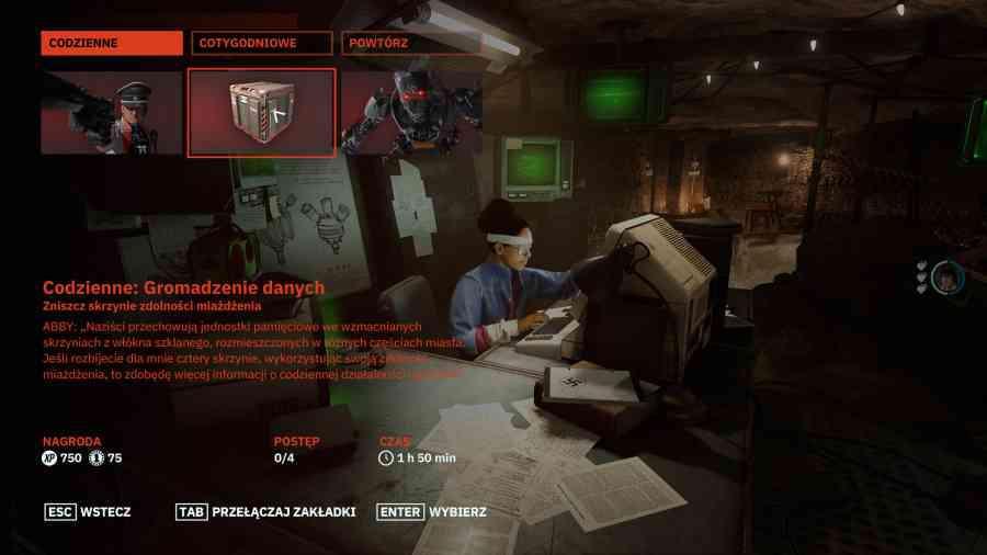 Wolfenstein: Youngblood - Dzienne misje w Wolfie?