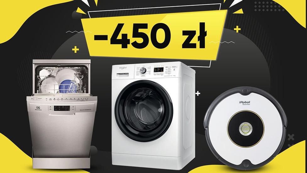 Produkty taniej nawet ponad 450 złotych - Promocje na AGD i nie tylko!