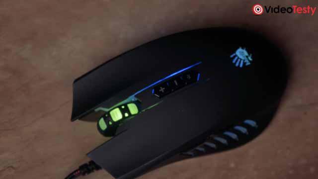 wygląd taniej myszki dla graczy A4Tech