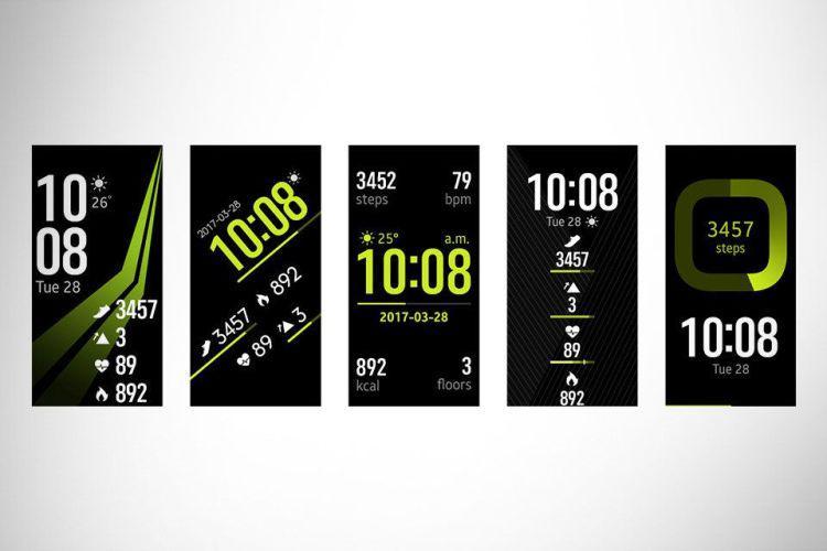 Samsung Gear Fit 2 Pro (S) SM-R365 personalizacja ekranu
