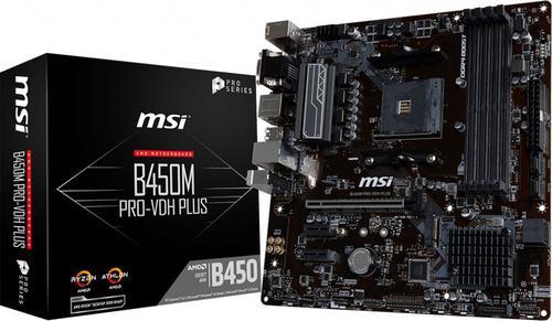 MSI MSI B450M PRO-VDH PLUS