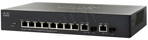 CISCO SG300-10MPP-K9-EU 10x10/100/1000 Switch