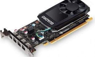 Fujitsu NVIDIA Quadro P600, 2GB GDDR5 (128 Bit), 4x miniDP (S26361-F2222-L64)