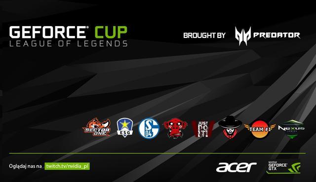 Wielki Finał Turnieju GEFORCE CUP Już w Ten Weekend!