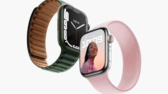 Apple Watch Series 7 to większy ekran w tej samej obudowie