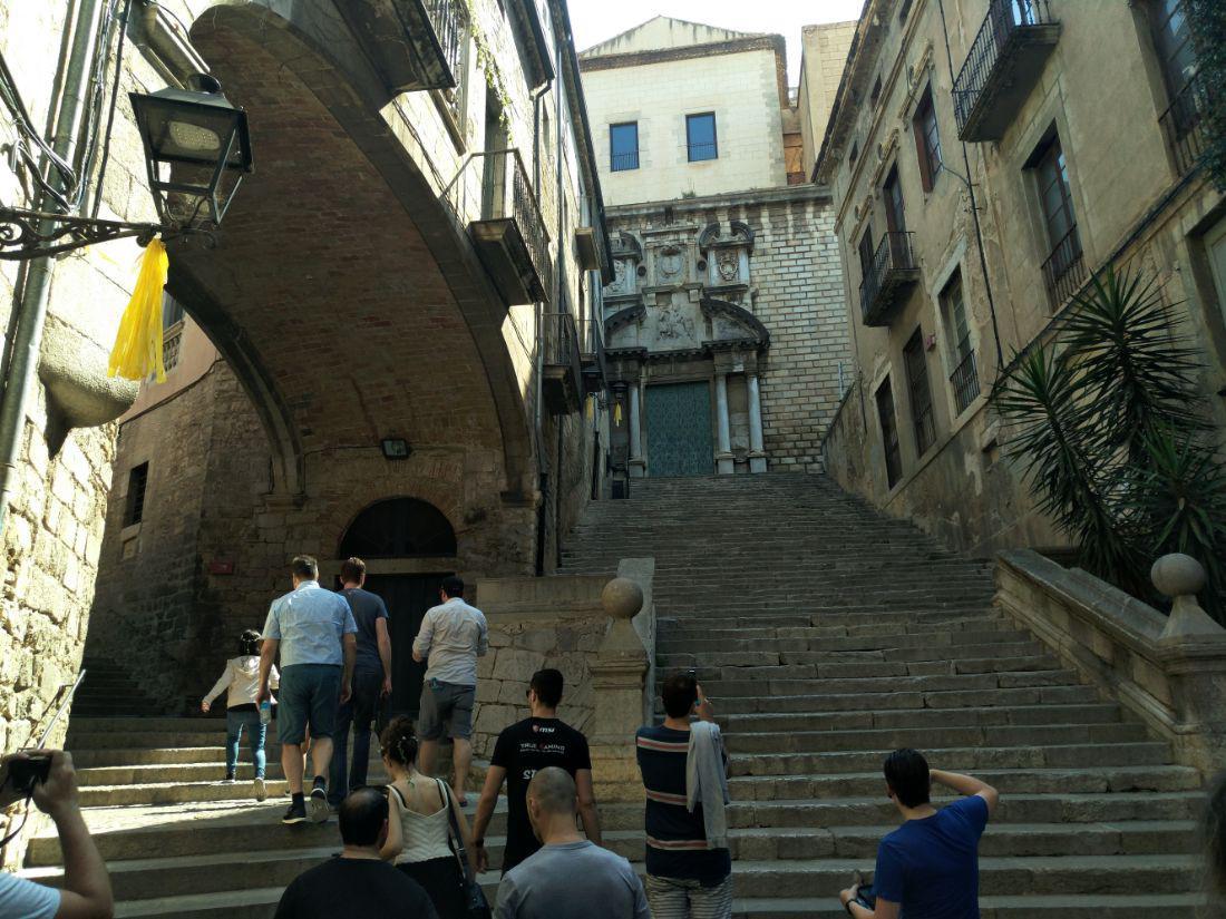 MSI Girona - wycieczka z Gry o Tron