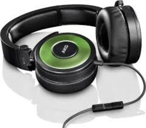 AKG K619 DJ Zielone Słuchawki DJ z mikrofonem