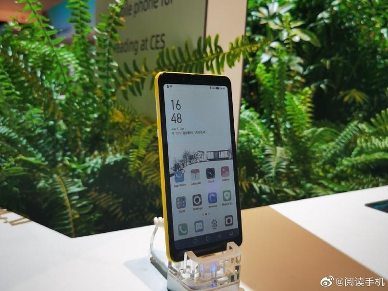 Smartfon HiSense wyświetla jedynie 4096 kolorów (Źródło: Weibo)