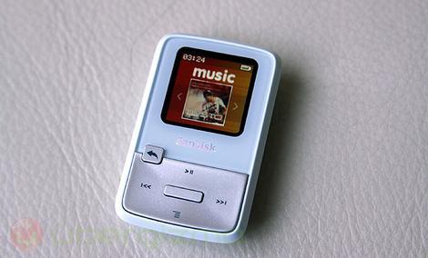 SanDisk Sansa Clip Zip - popularny odtwarzacz muzyczny
