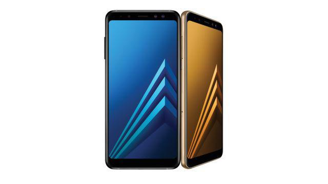 Wyświetlacz w Samsung Galaxy A8 (2018)