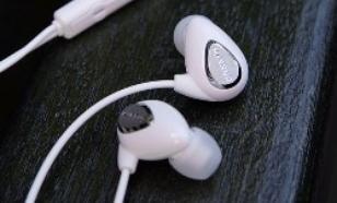 Cresyn C230s white Słuchawki z pilotem do Iphone i Smartphonow