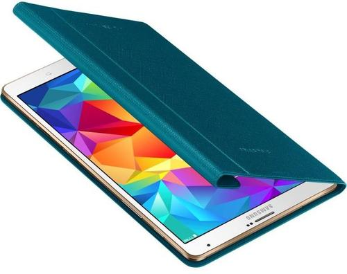 "Samsung Etui w formie ""book cover"" do GALAXY Tab S 8.4 AMOLED / Klimt (T700/T705) - niebieskie"