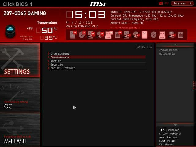 MSI Z87-GD65bios fot2