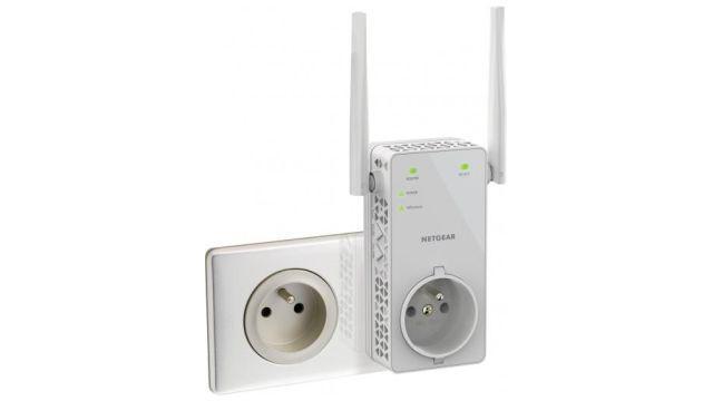 NETGEAR WiFi AC1200 (EX6130100PES) posiada dwie zewnętrzne anteny