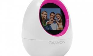 CANYON CNR-DPFEGGP Ramka do zdjęc 1,5c 2MB USB bia/roz