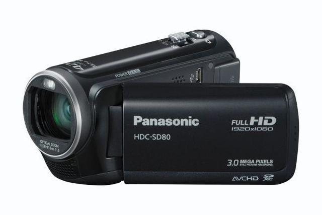 Panasonic HDC-SD 80 - zaawansowana kamera cyfrowa