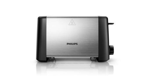 Toster Philips HD4825/90 (800W/Inox-czarny)