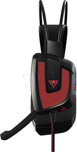 wokółuszne Patriot Viper V360 7.1 Virtual Surround (czarno-czerwony)