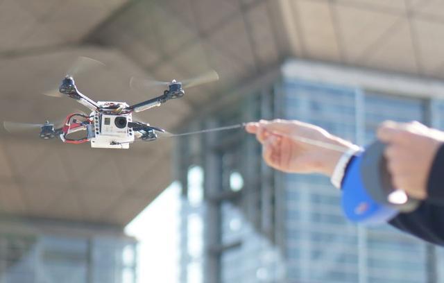 Fotokite, Czyli Dron na Smyczy