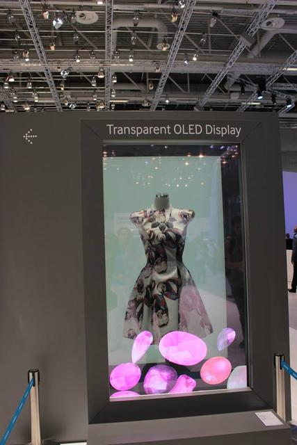 Przezroczysty Ekran Samsunga - Ciekawostka z IFA 2015