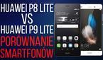 Huawei P8 lite vs Huawei P9 lite - Porównanie Smartfonów