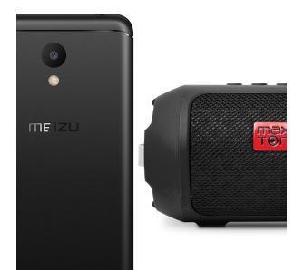 Meizu M6 16GB (czarny) + głośnik Masaya
