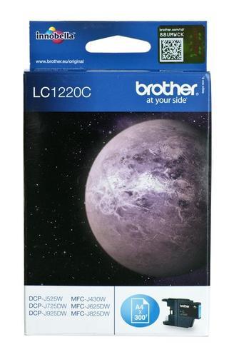 BROTHER Tusz Niebieski LC1220C=LC-1220C, 300 str.