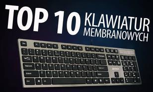TOP 10 Klawiatur membranowych - Ranking niezawodnych membranówek