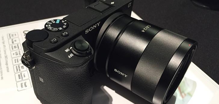 Sony Prezentuje Nowego Bezlusterkowca – α6500