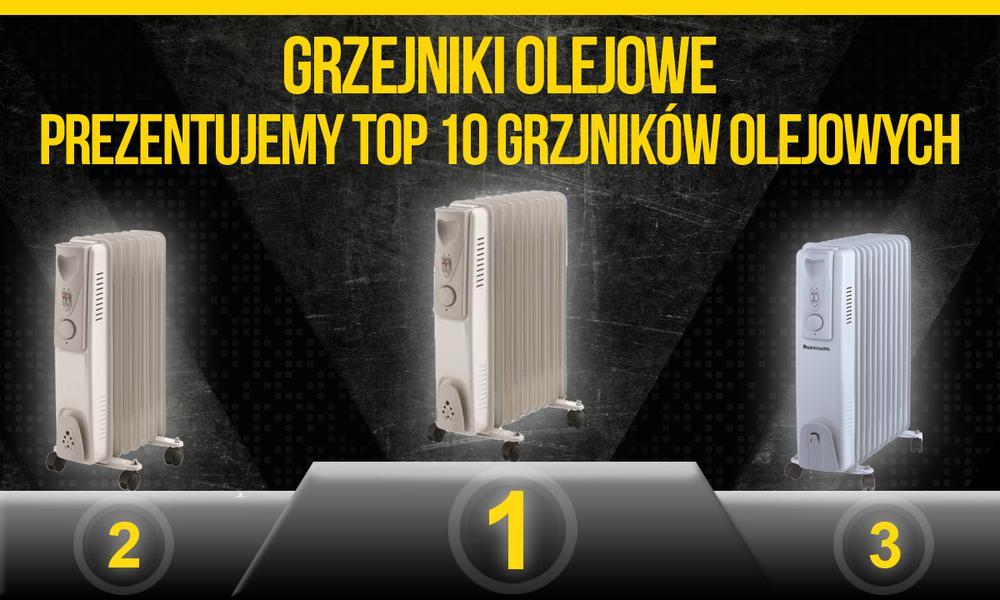 Grzejniki olejowe – Prezentujemy TOP10 Grzejników Olejowych!