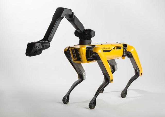 TAŃCZĄCY ROBOT OD BOSTON DYNAMICS