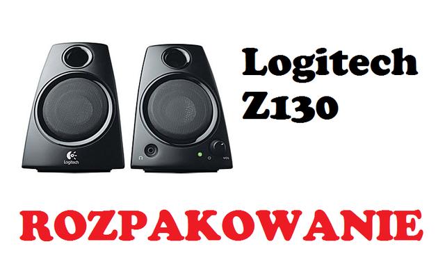 Logitech Z130 [ROZPAKOWANIE]