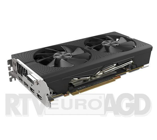 Sapphire RX 580 PULSE OC, 8GB GDDR5 (256 Bit), DVI-D, 2x DP, 2x HDMI