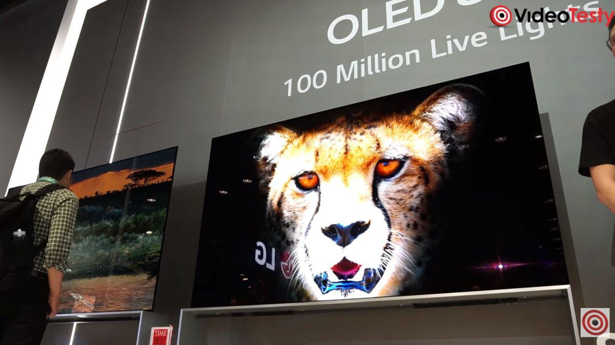 LG na CES 2020 pokazało wiele nowych OLED-ów 8k