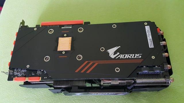 Gigabyte GTX 1080Ti Aorus przód