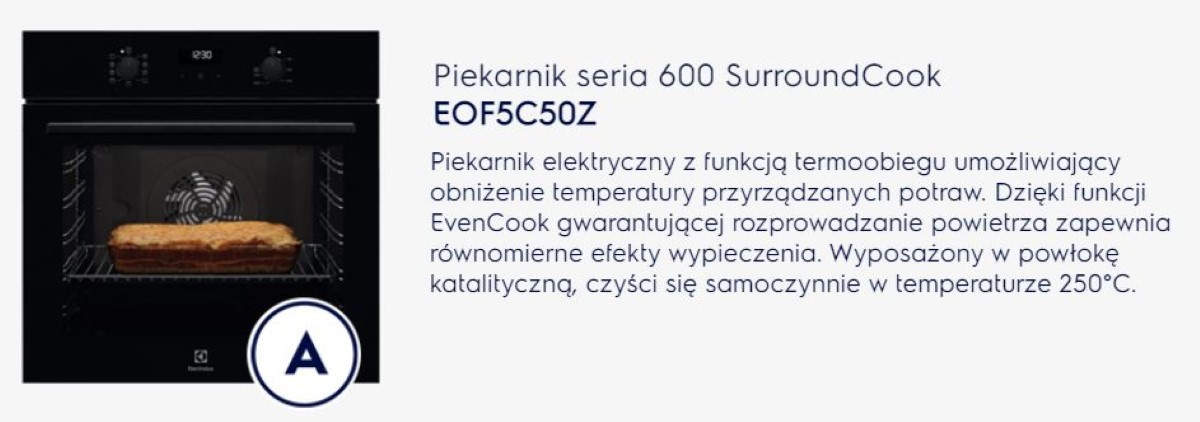 Electrolux EOF5C50Z SurroundCook opis producenta