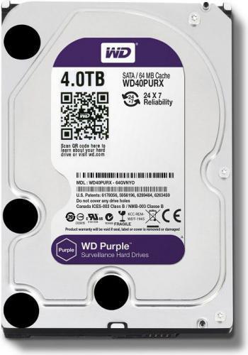Western Digital Caviar Purple 4TB (WD40PURX)