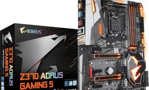Gigabyte GA-Z370-AORUS-Gaming 5 ( LGA 1151 ; 4x DDR4 DIMM ; ATX ; SLI CrossFire )