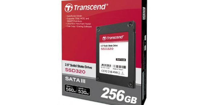 Transcend SSD320 256GB [UNBOXING]