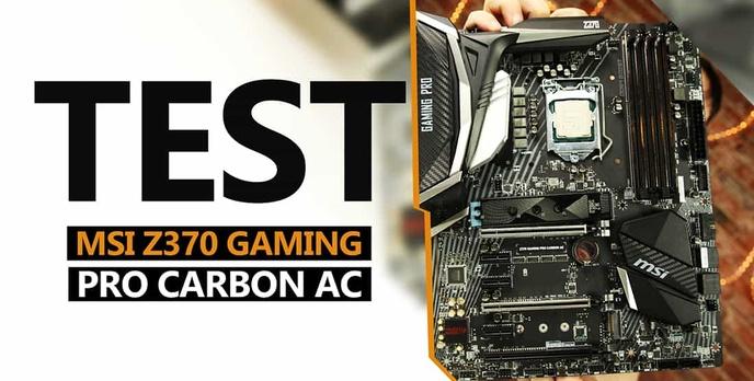 MSI Z370 Gaming Pro Carbon AC - Czarny Smok 8. Generacji