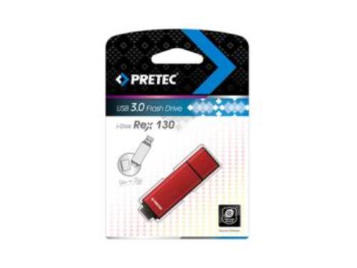 PRETEC i-Disk REX130 USB 3.0 (100MBs/40MBs) - 32GB (czerwony)