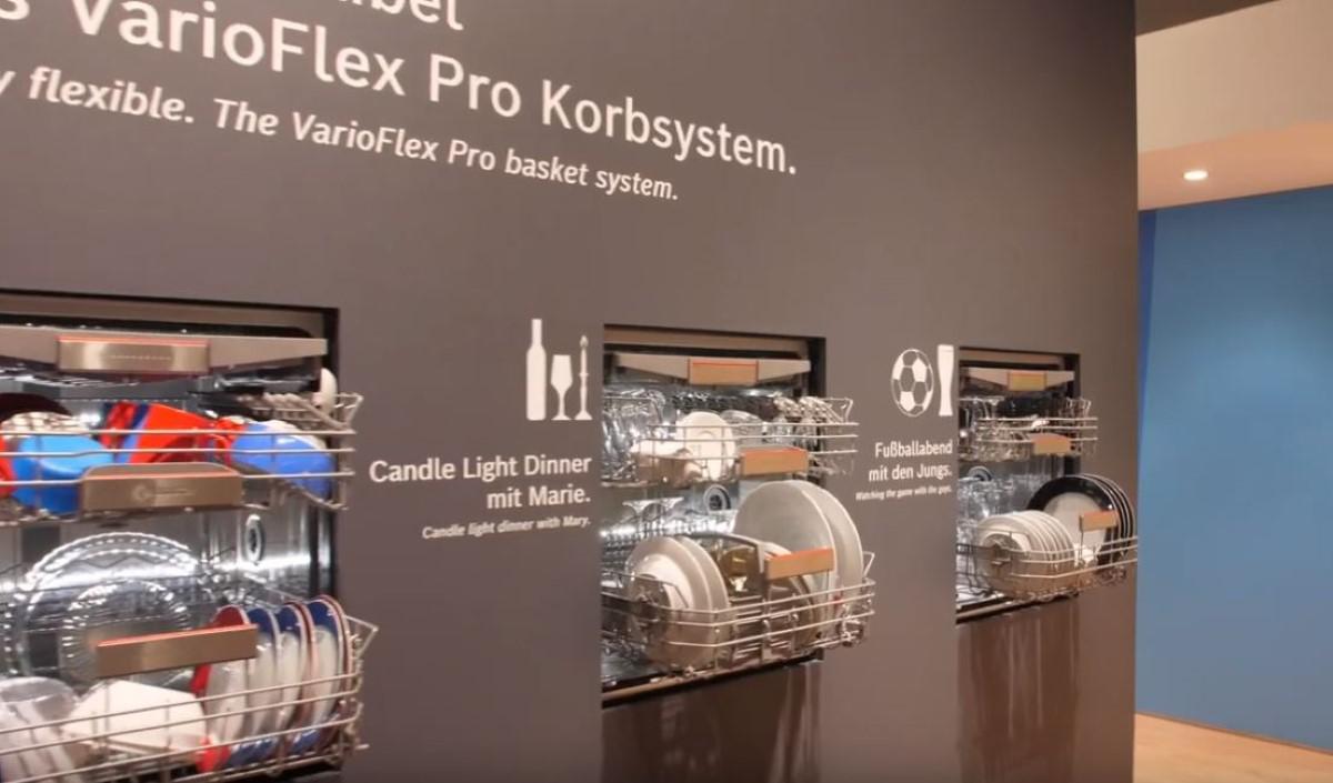 Bosch Varioflex zmywarki na IFA 2019
