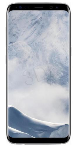 """Samsung Galaxy S8 ( 5,8"""" ; 2960x1440 ; 64GB ; 4GB ; srebrny Arctic"""