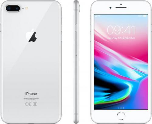 Apple iPhone8 Plus 64GBSrebrny (MQ8M2PM/A)