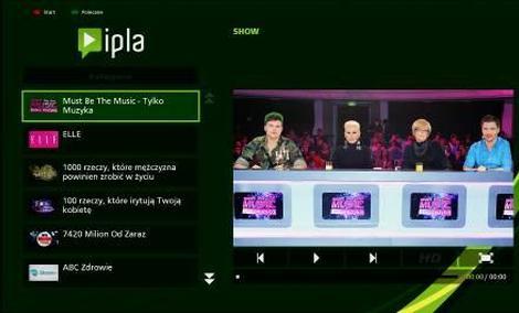 Ipla 3.0 w telewizorach Panasonic VIERA