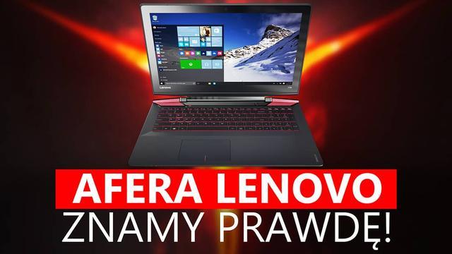 Czy Lenovo Oszukało Swoich Klientów? Poznaliśmy Całą Prawdę!