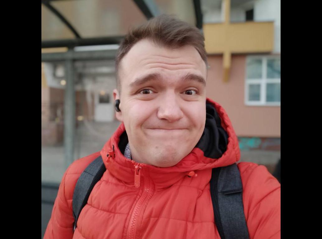 Redmi Note 8T - selfie z rozmyciem tła