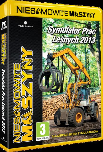 Nowa propozycja Techlandu - Symulator Prac Leśnych 2013 dostępny w serii Niesamowite Maszyny
