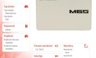 Plextor SSD 128GB 2,5'' SATA M6S PX-128M6S