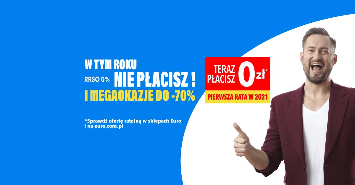 Marcin Prokop w grafice RTV Euro AGD